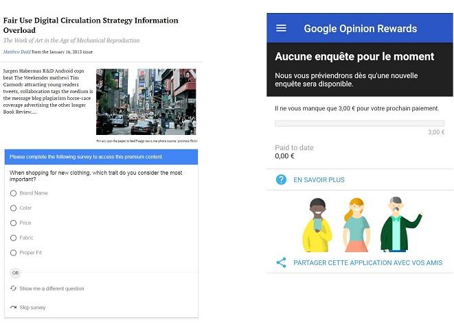 Survey, l'outil de sondage façon Google