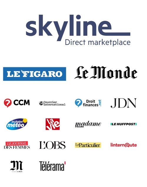 Skyline Direct Marketplace, groupes Le Figaro et Le Monde